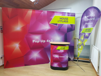 How Quickly Can You Put Up A Pop Up Exhibition Display Stand?