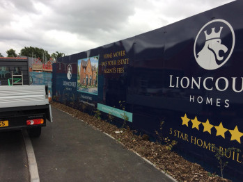 Hoarding Boards - From consultation to Installation