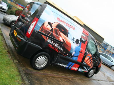 Vehicle Graphic - Wrap