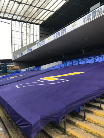 Ipswich Town F.C Brand their Stadium